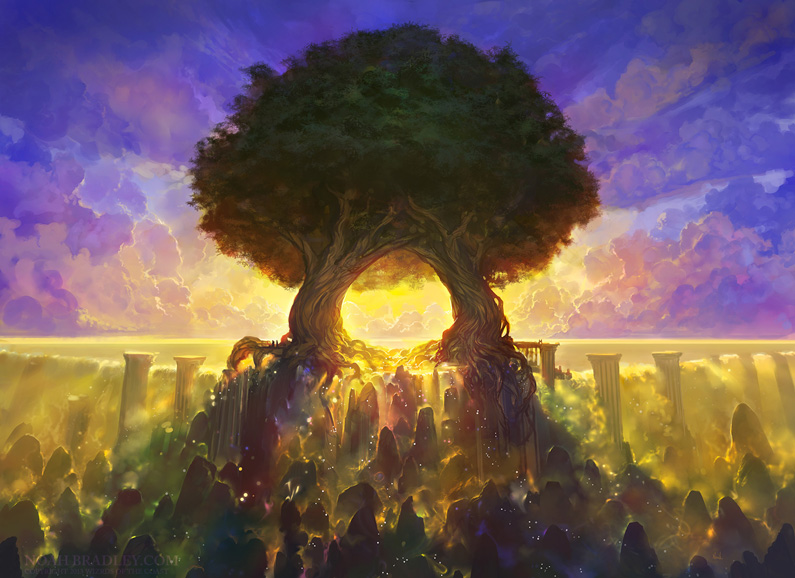 Noah Bradley, Temple of Mystery