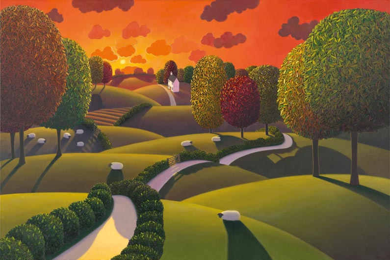 Paul Corfield, Changing Colours