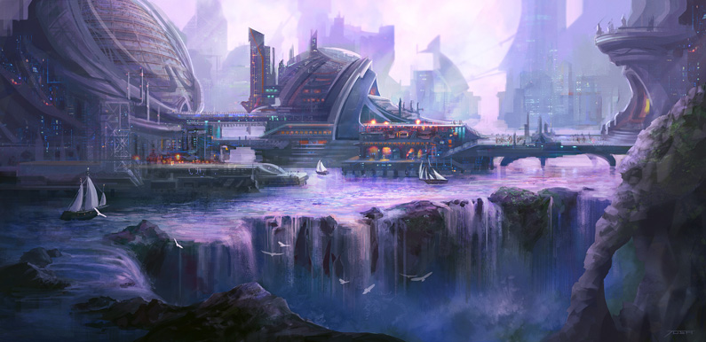 Josh Calloway, City on the Water