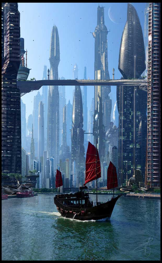Richard Scott, Futuristic City 7