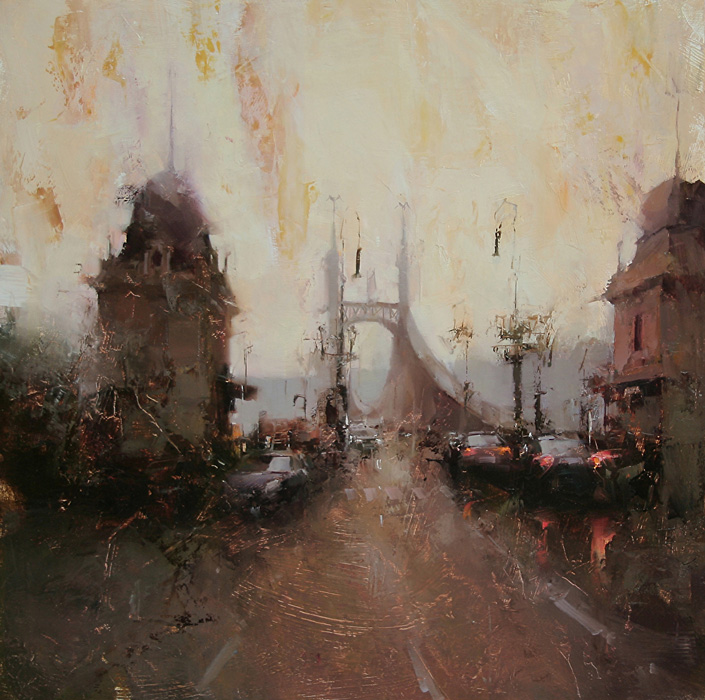 Tibor Nagy, Red Lights in the Dusk