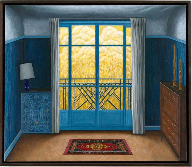 Scott Kahn, Blue Bedroom