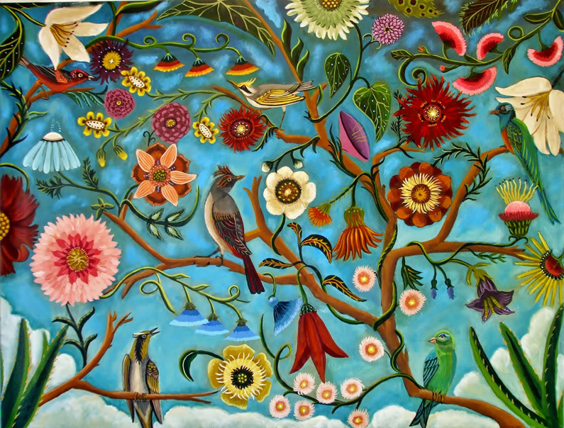Catherine Nolin, Birds in Paradise