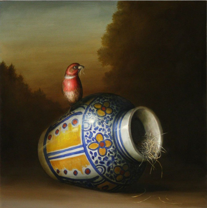 David Kroll, Mexican Vase and Nest