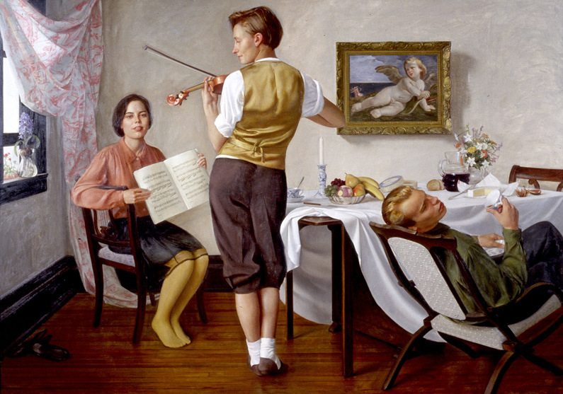 Andrew Sterret Conklin, Rehearsel