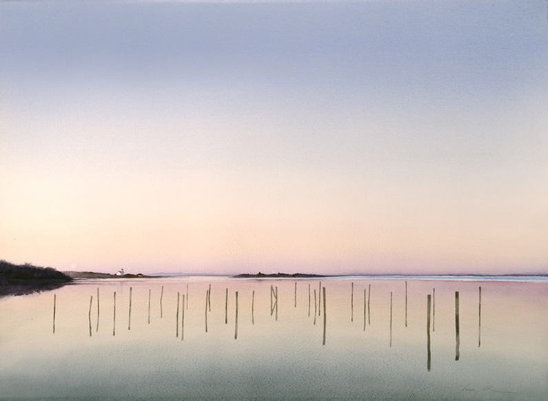 Fred Poisson, Silent Afterglow on the salt Pond