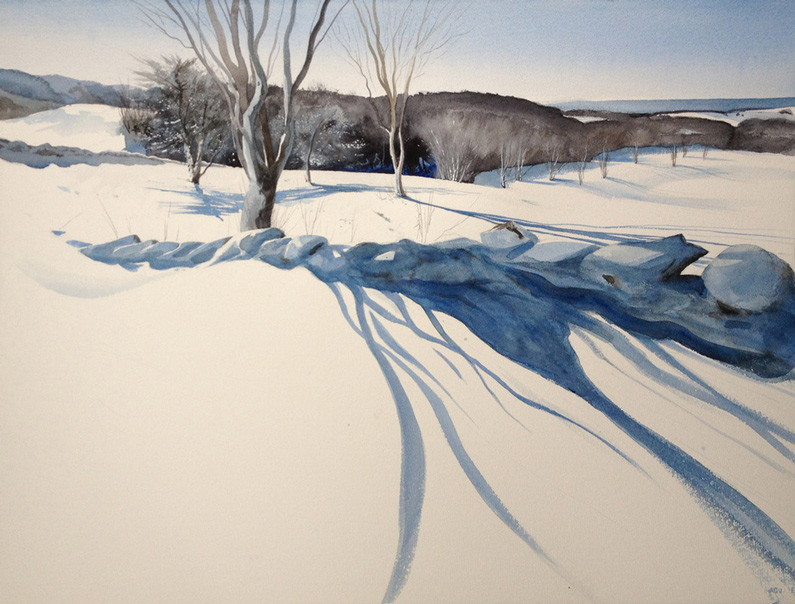 Fred Poisson, Winter Shadows
