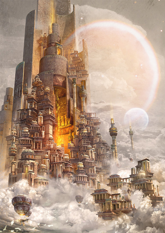 Te Hu, Tower of Babylon