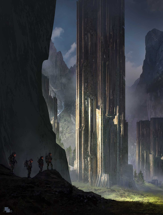 Florent Llamas, Ruins Towers