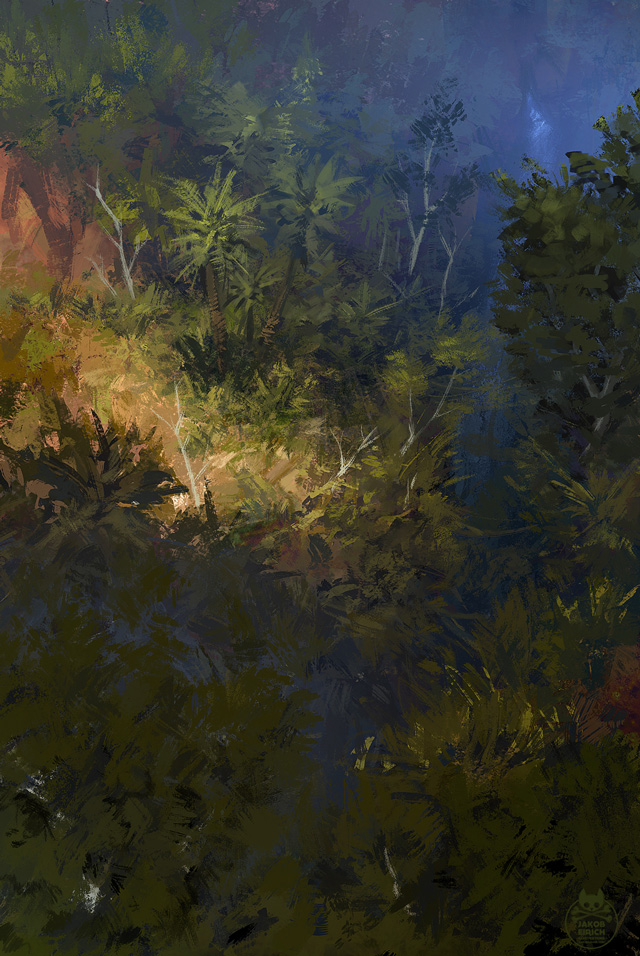 Jakob Eirich, Jungle Sketch