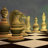 Historical chess games, the European and the Japanese chess